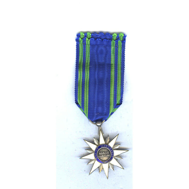 Order of Maritime Merit Knight in case of issue by Bertrand (L26240... 2