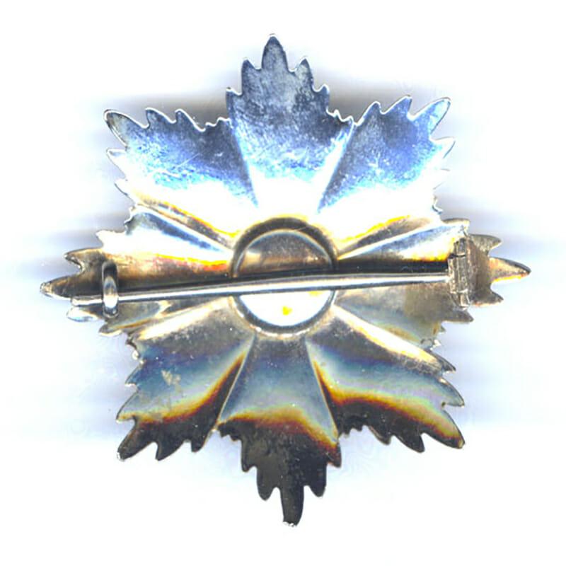 Order of  Vasco Nunez  De Balboa Grand Cross breast star 2