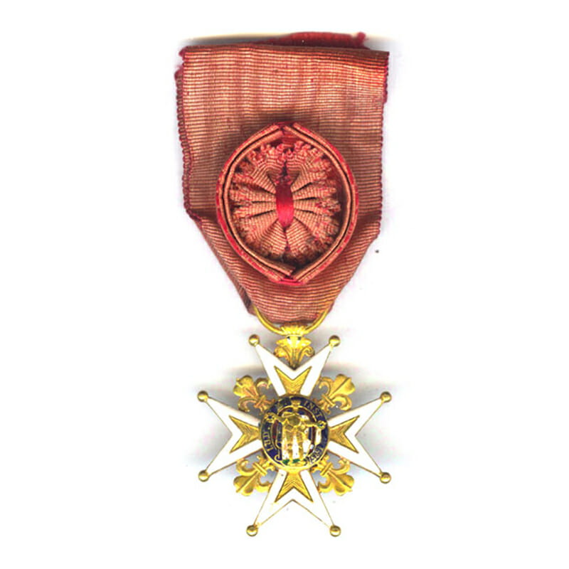 Order of St.Louis Knight in gold 1