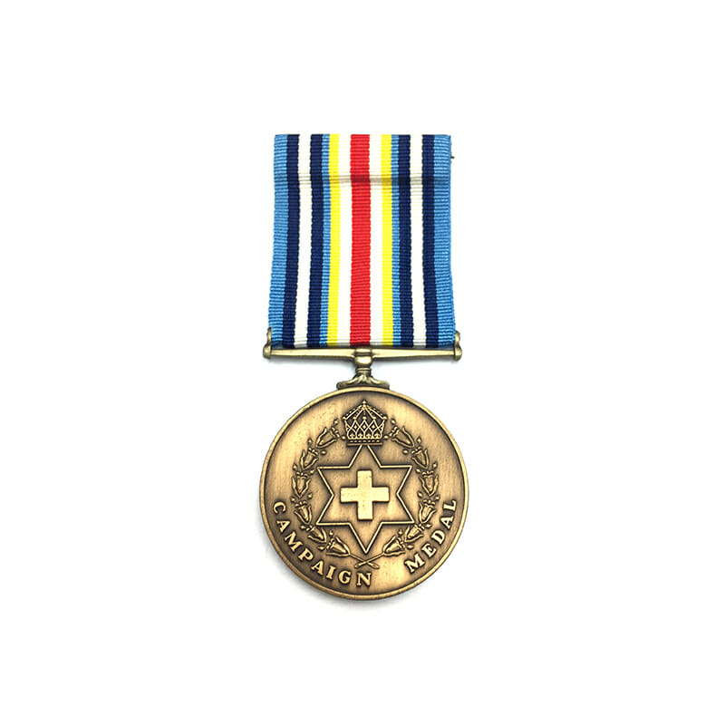Campaign Medal, bronze service Iraq and Afghanistan 1