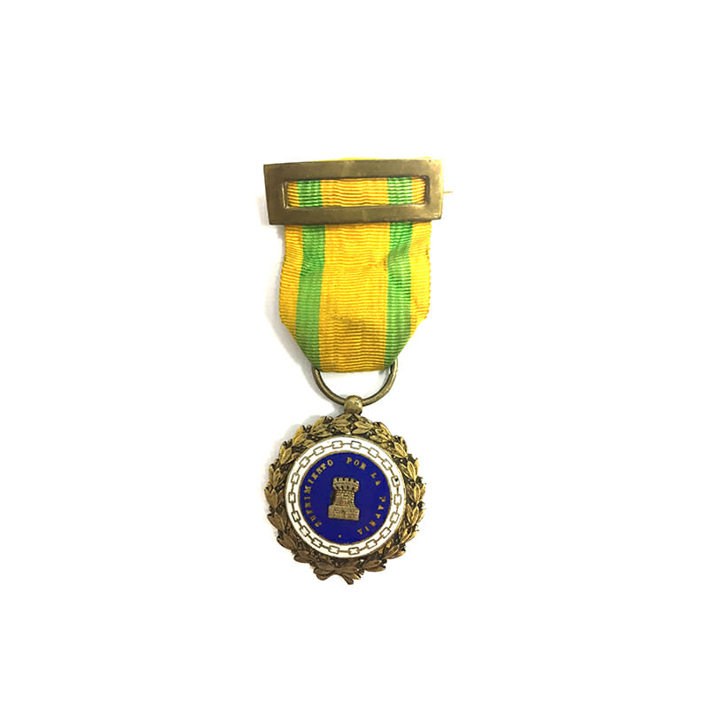 Wound Medal silver gilt 1