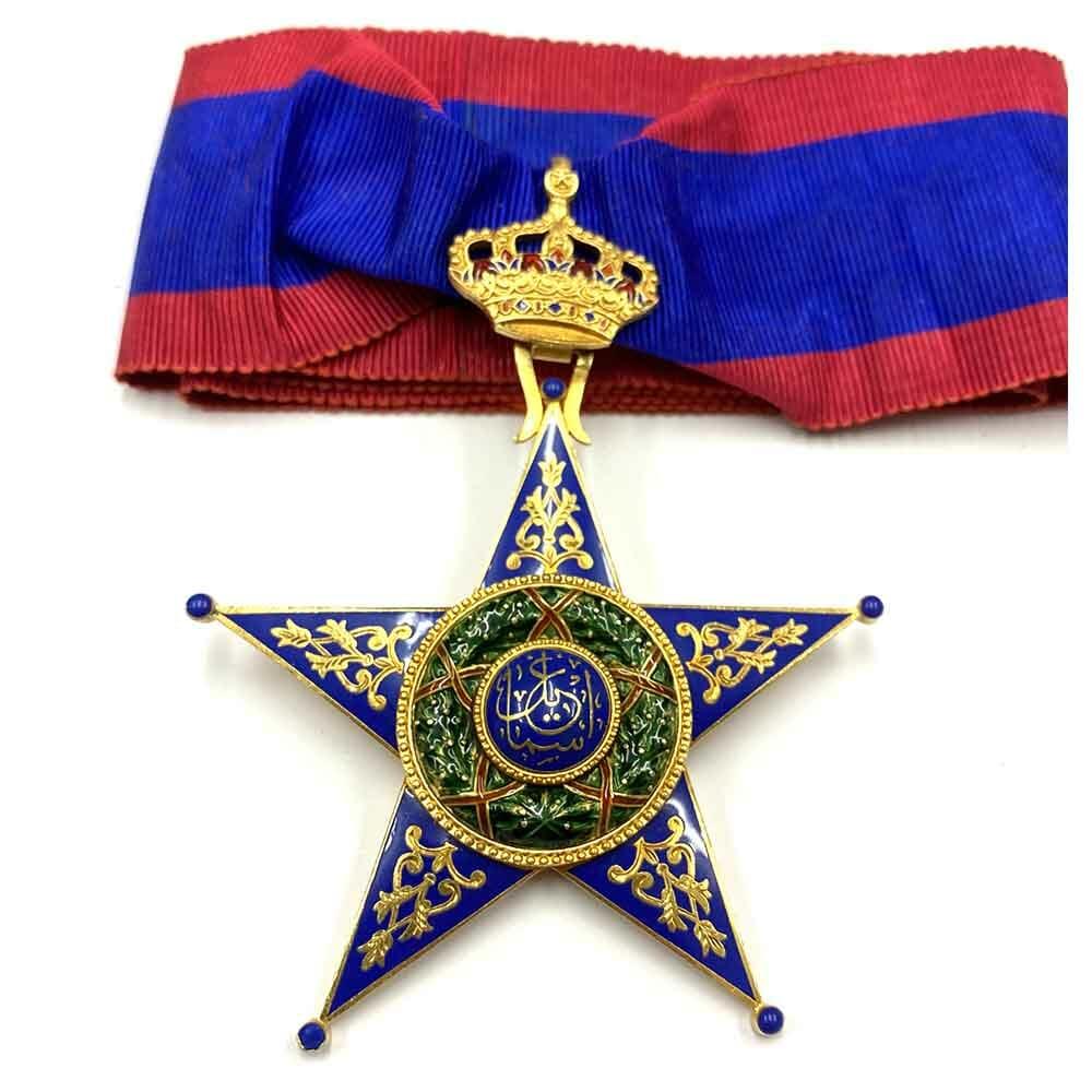 Order of Ismail Commander neck badge, Gold 1