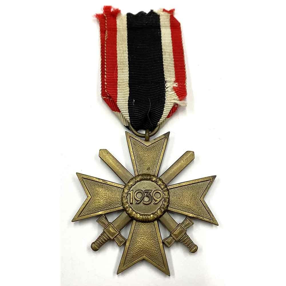 War Merit Cross 2nd class with swords bronze 2