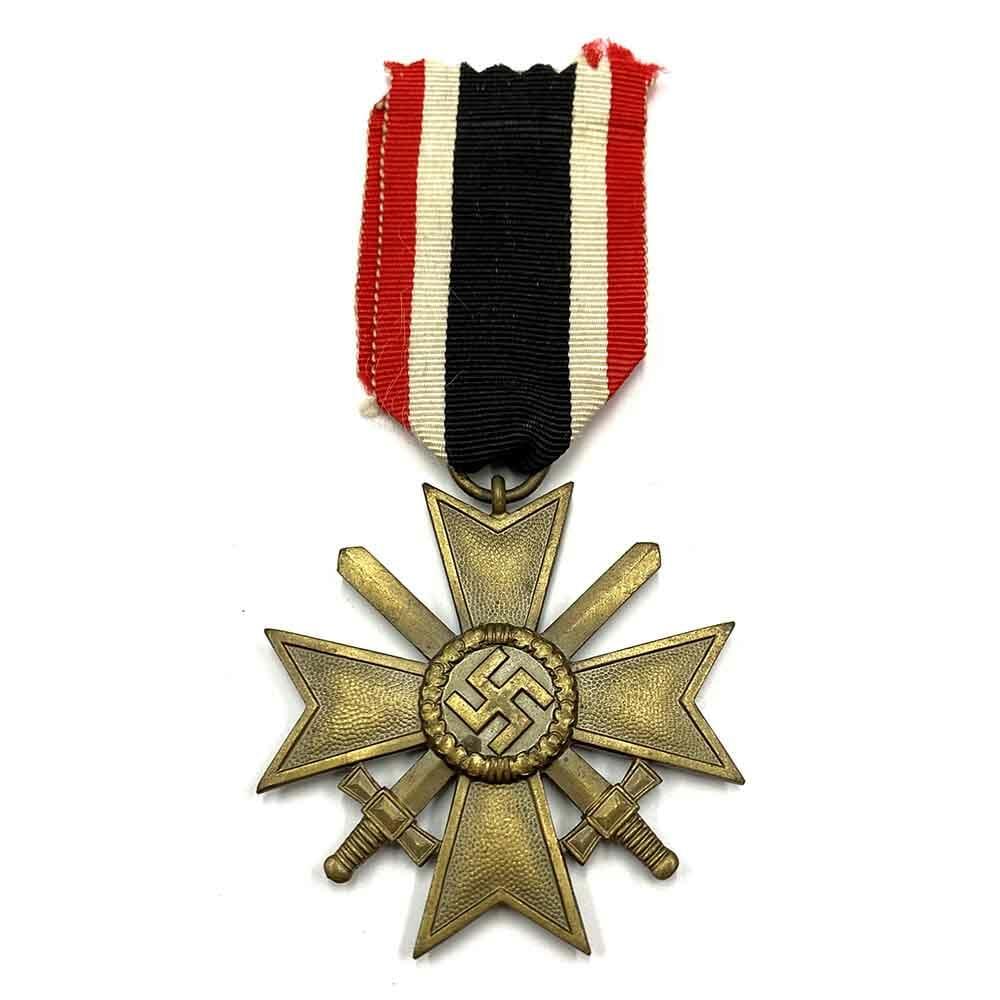 War Merit Cross 2nd class with swords bronze 1