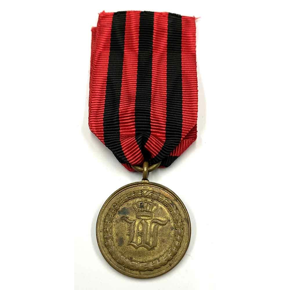 War  Medal  1793-1815 as awarded for Waterloo for 2 2