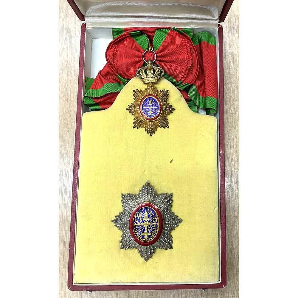 Cambodia Order of Cambodia Grand Cross set cased 1