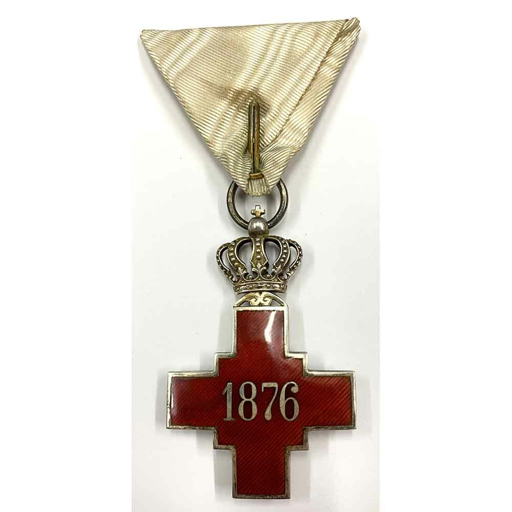 Red Cross Decoration 1876 2