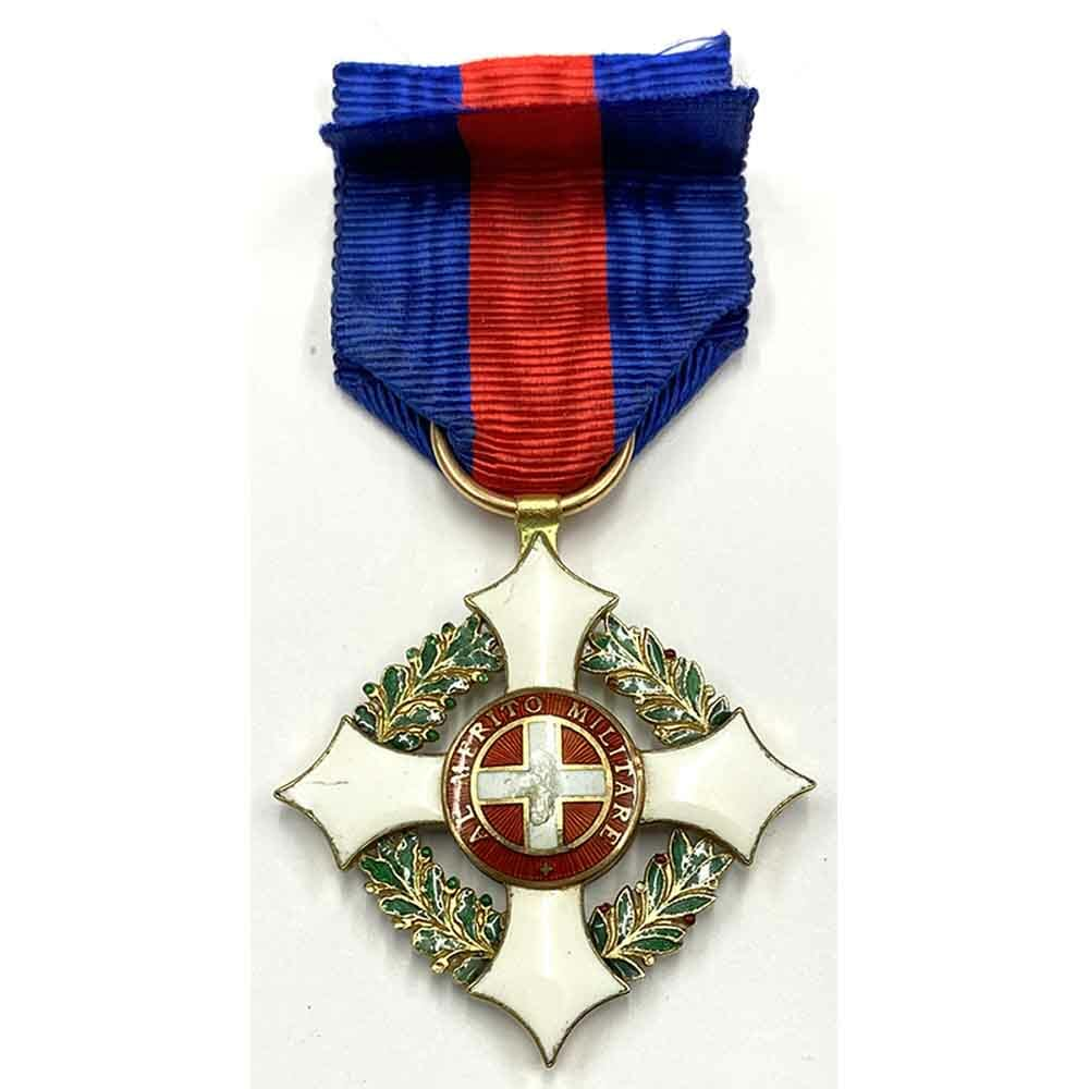 Military Order of Savoy 1st type Knight in gold, 2