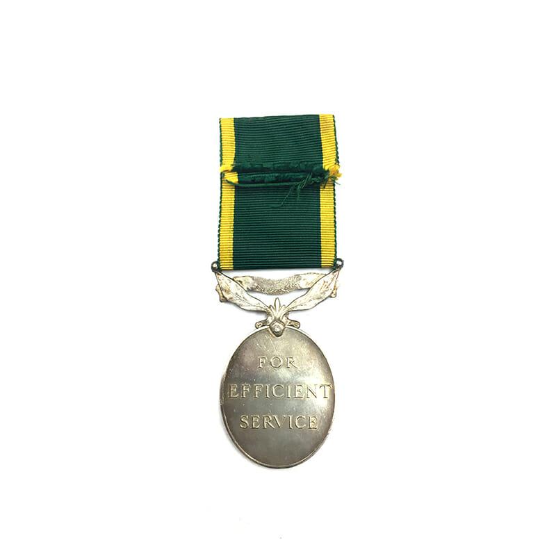 Efficiency Medal EIIR R.A. 2