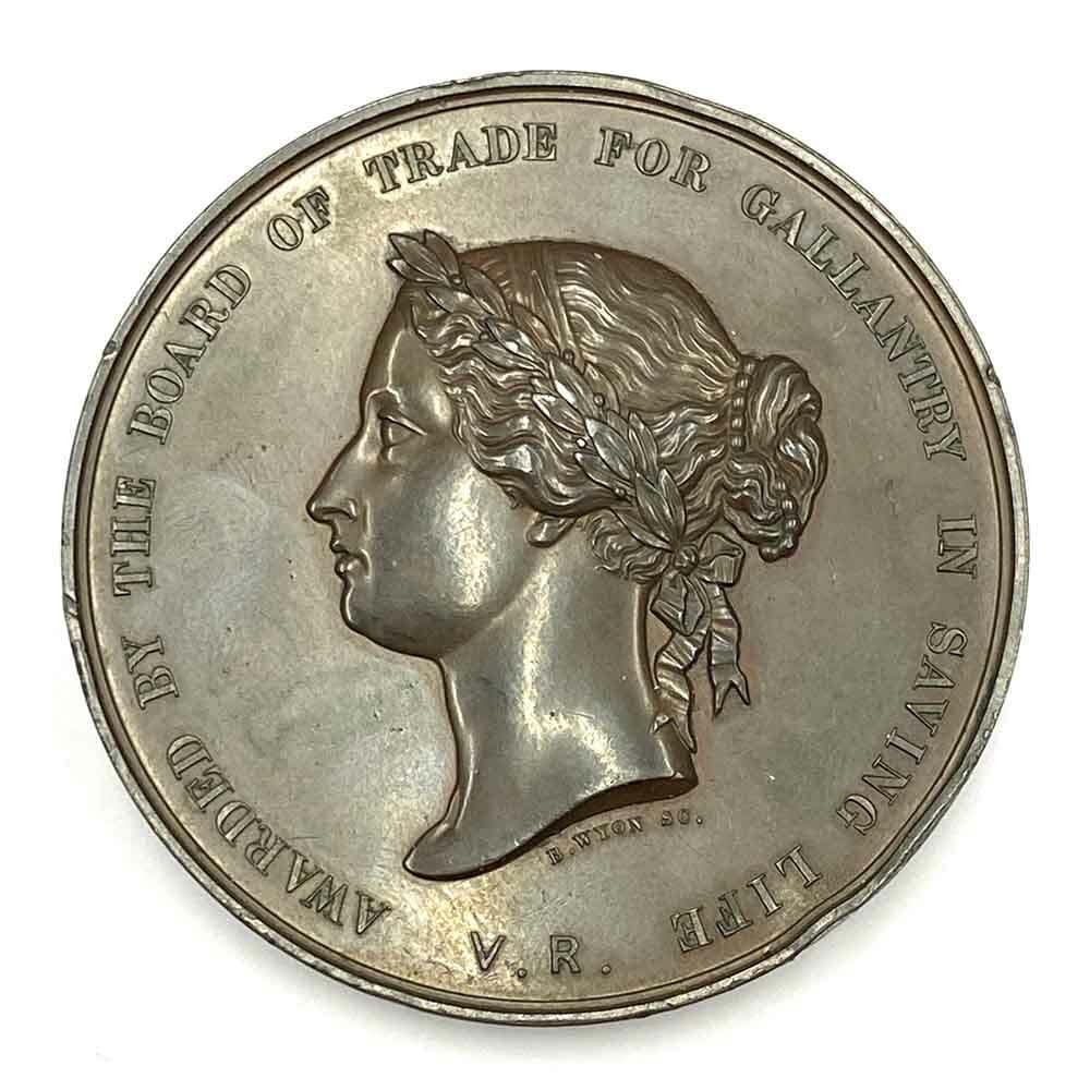 Board of Trade Sea Gallantry Medal 1886 1