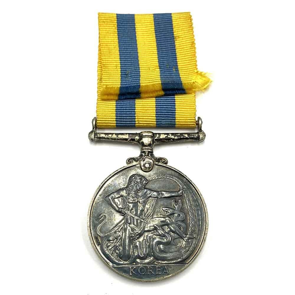 Korea War Medal Canada 2