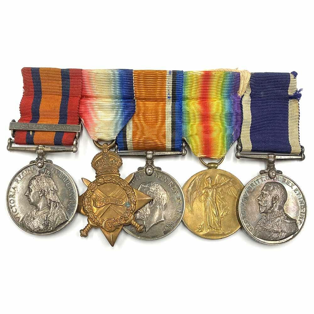 QSA Trio LSGC Royal Marine 1
