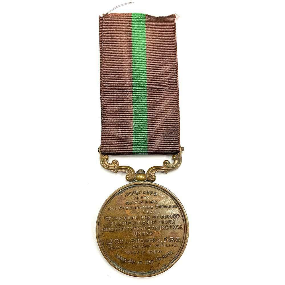 Cape Copper Ookiep Medal 2