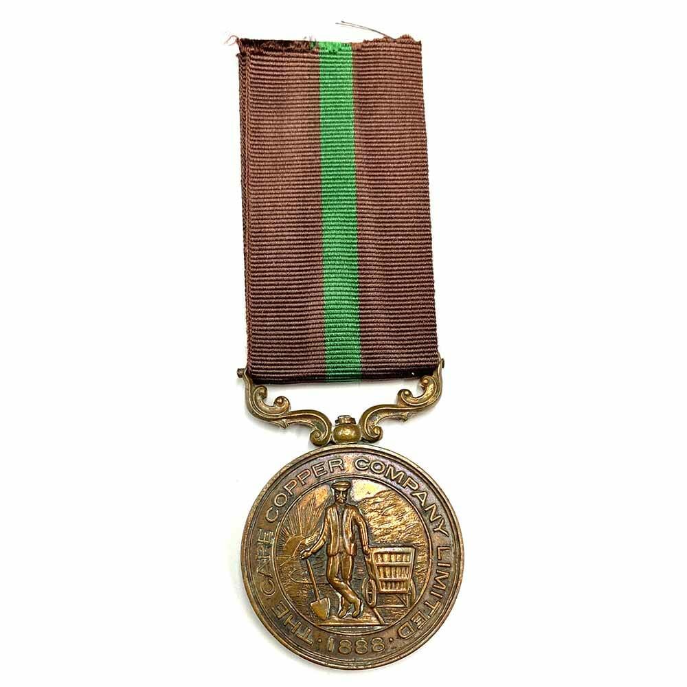 Cape Copper Ookiep Medal 1