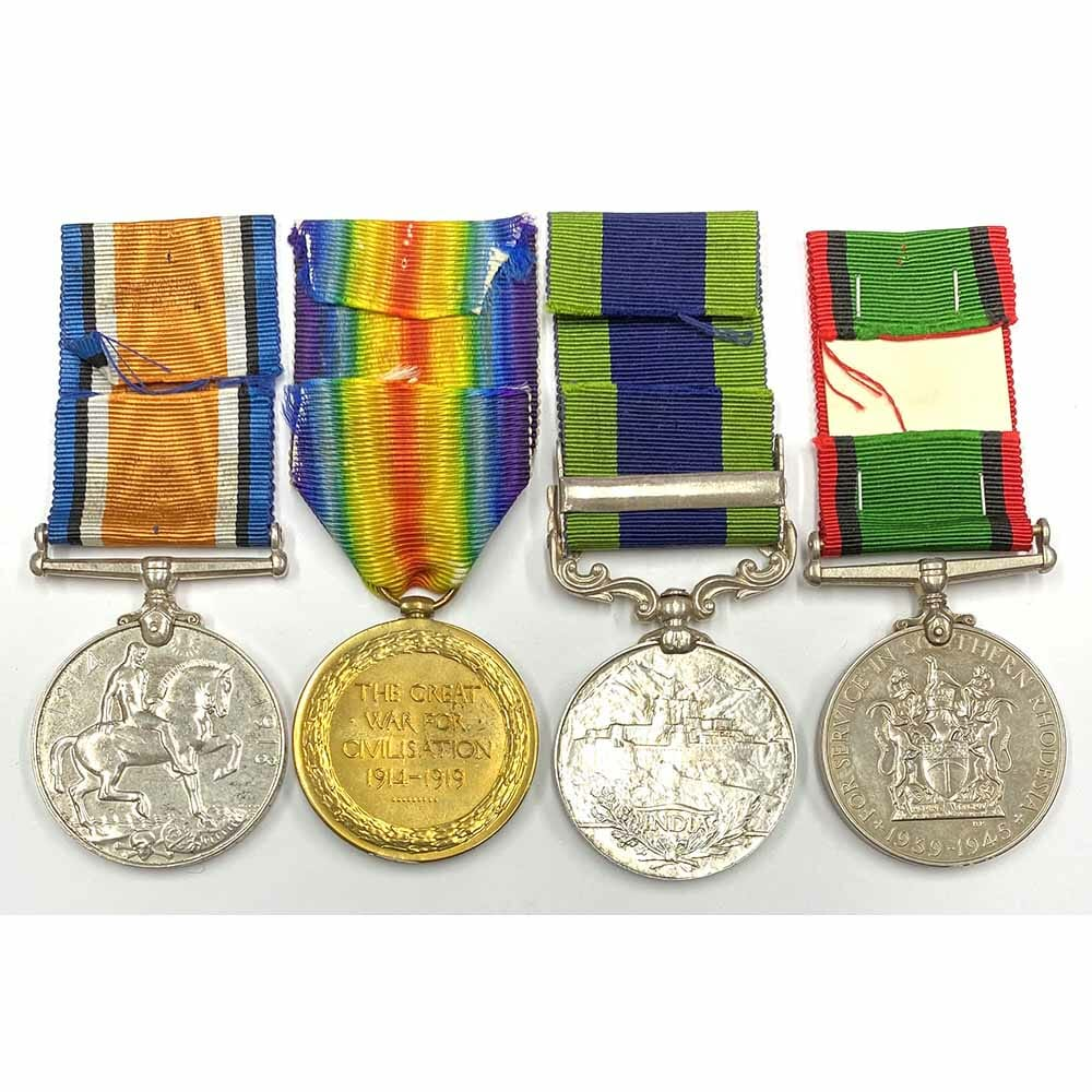 Southern Rhodesia Medal Group 2