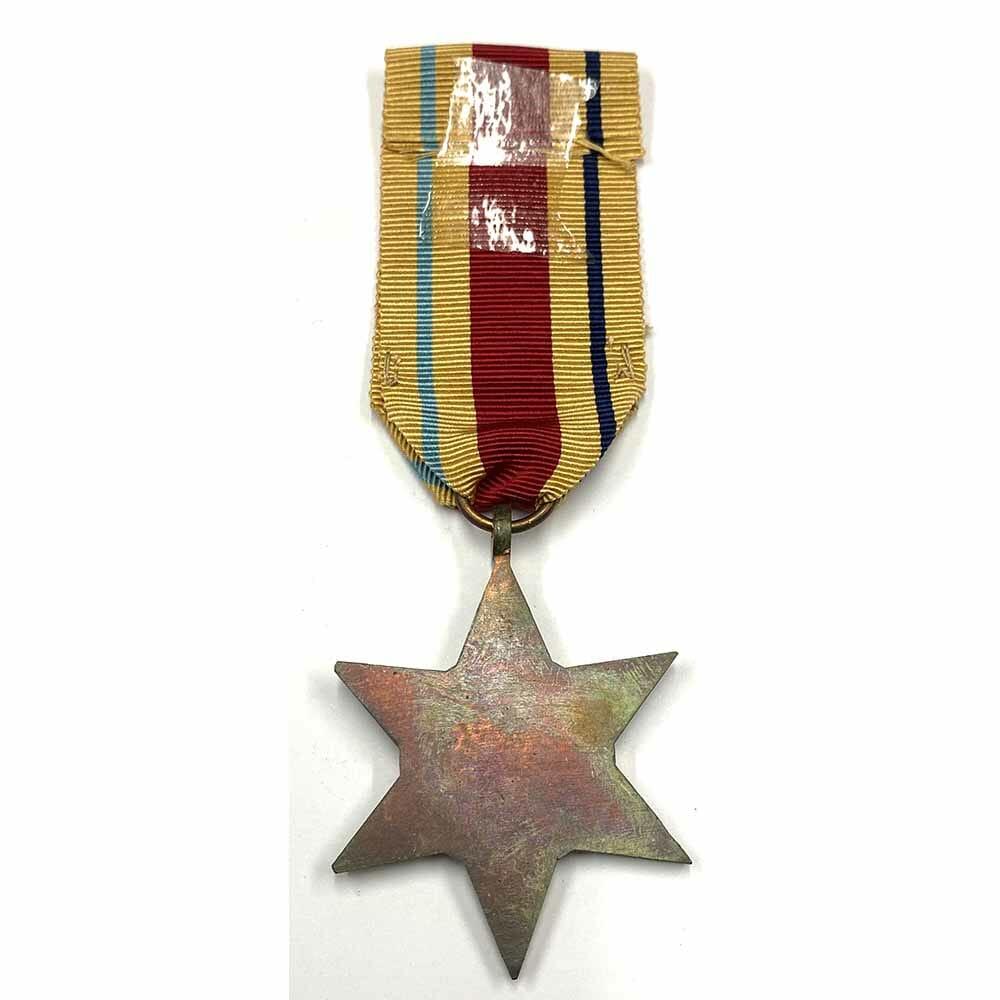 Africa Star bar 1st Army 2