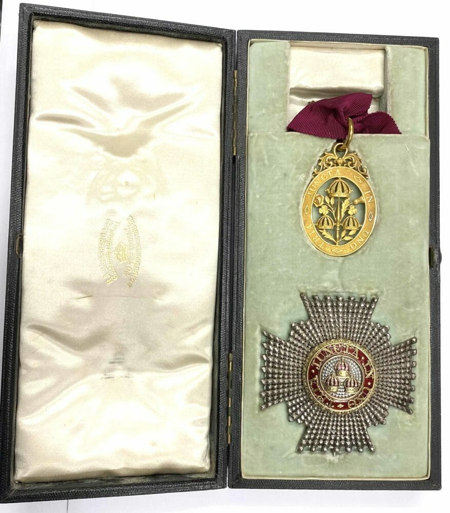 Knight Commander of the Order of the Bath Civil Gold 1