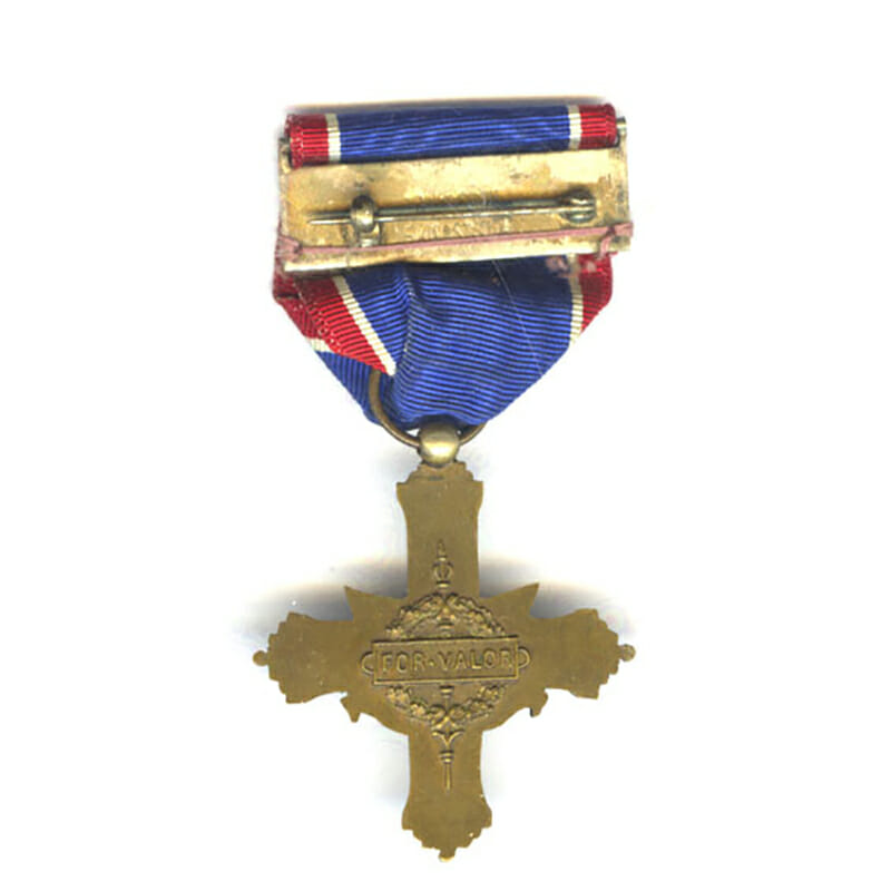 Distinguished Service Cross Army 1st type W.W.I French made  very rare 2