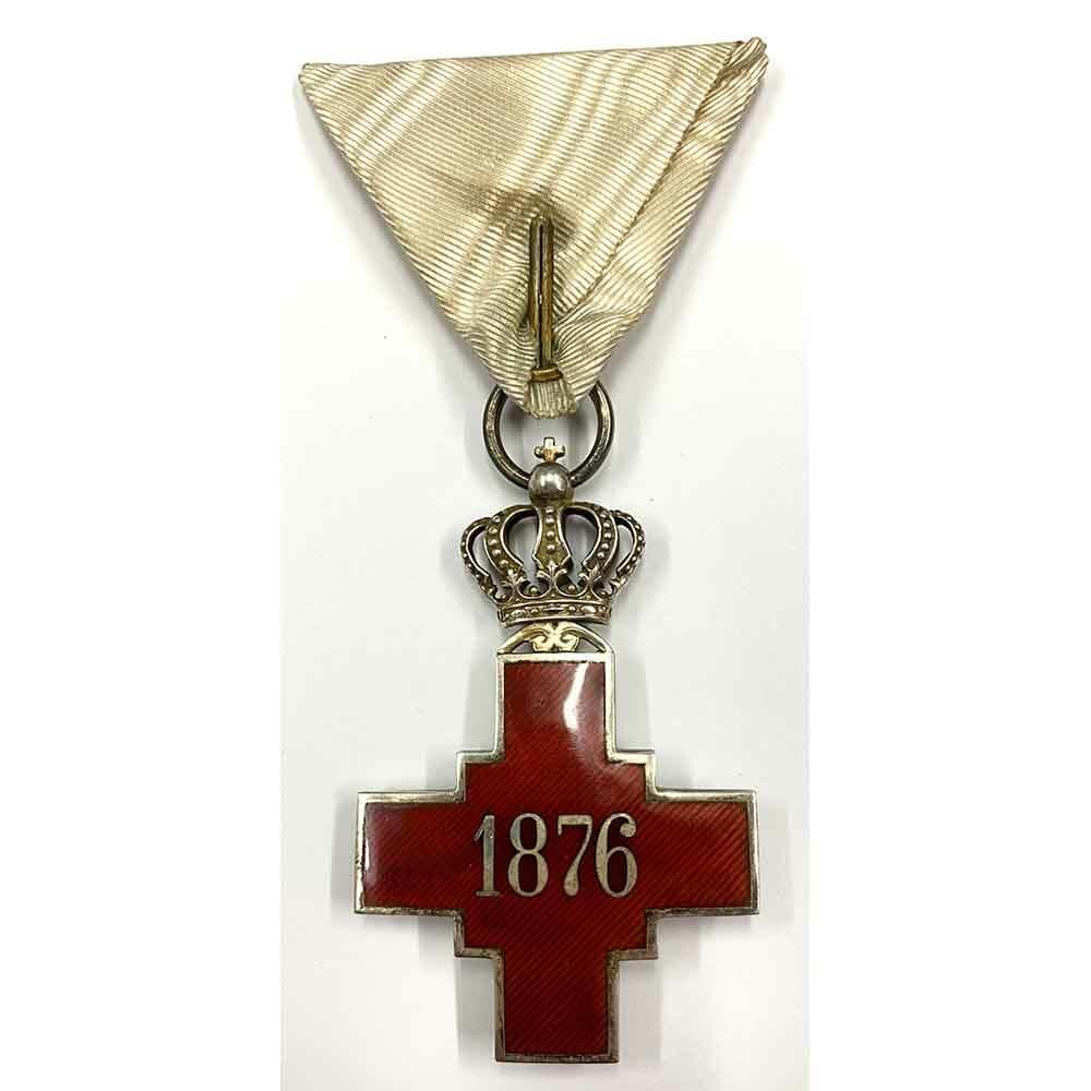 Red Cross Decoration 1876 2