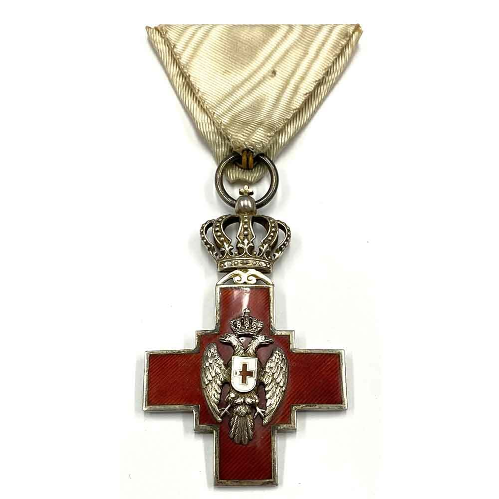 Red Cross Decoration 1876 1
