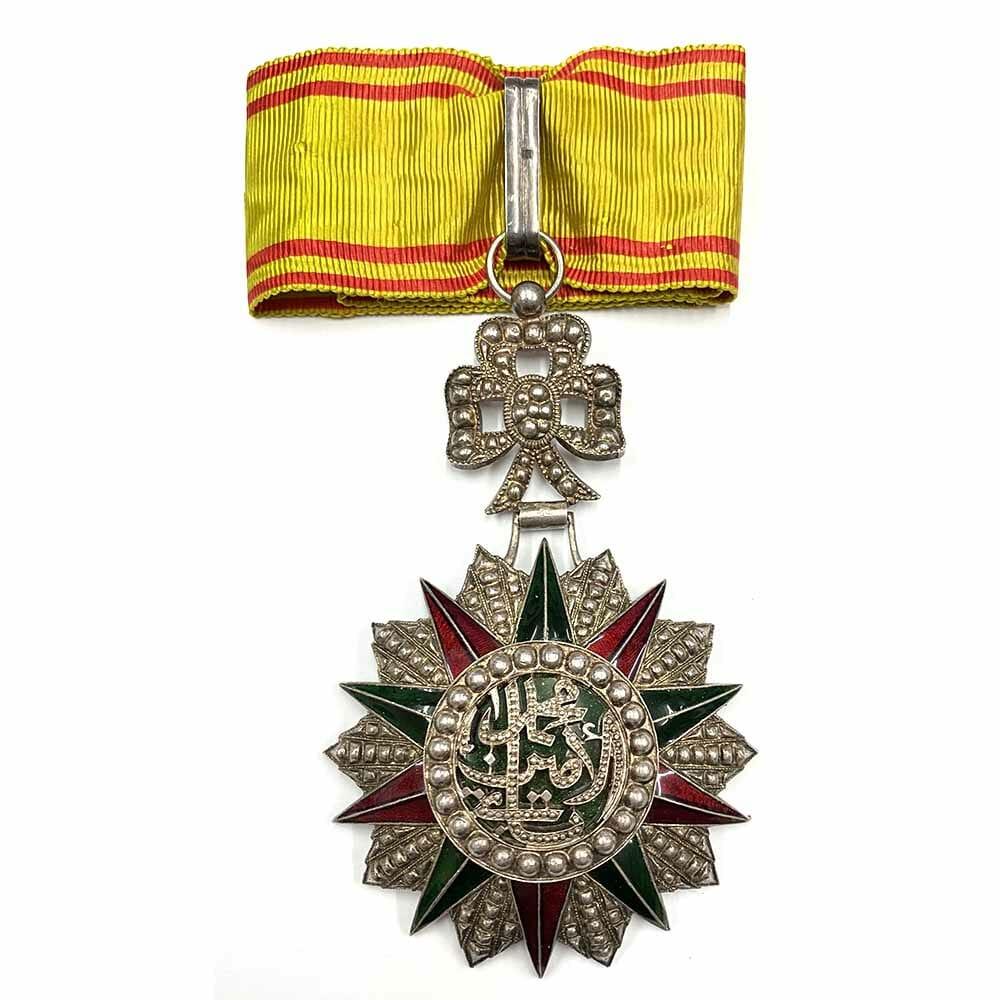 Order of Nichan Iftikhar Commander MohammedVIII 1