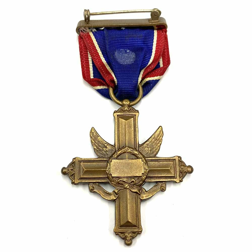 Distinguished Service Cross Army WWII issue numbered 2