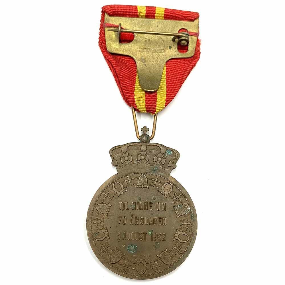 Haakon VII 70th Birthday medal 2