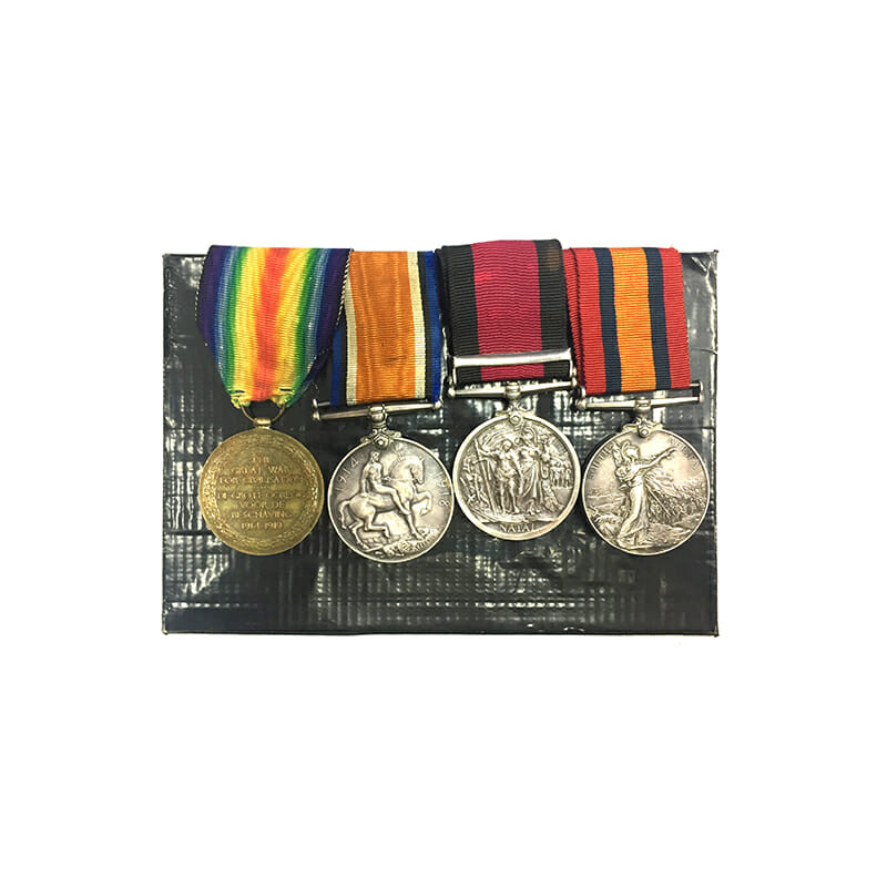 QSA Natal 1906 WW1 Group of 4 2