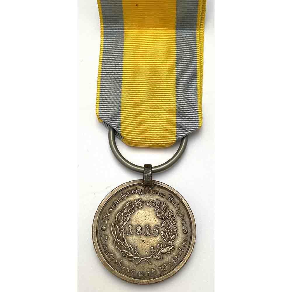 Brunswick Waterloo Medal Hussars 2