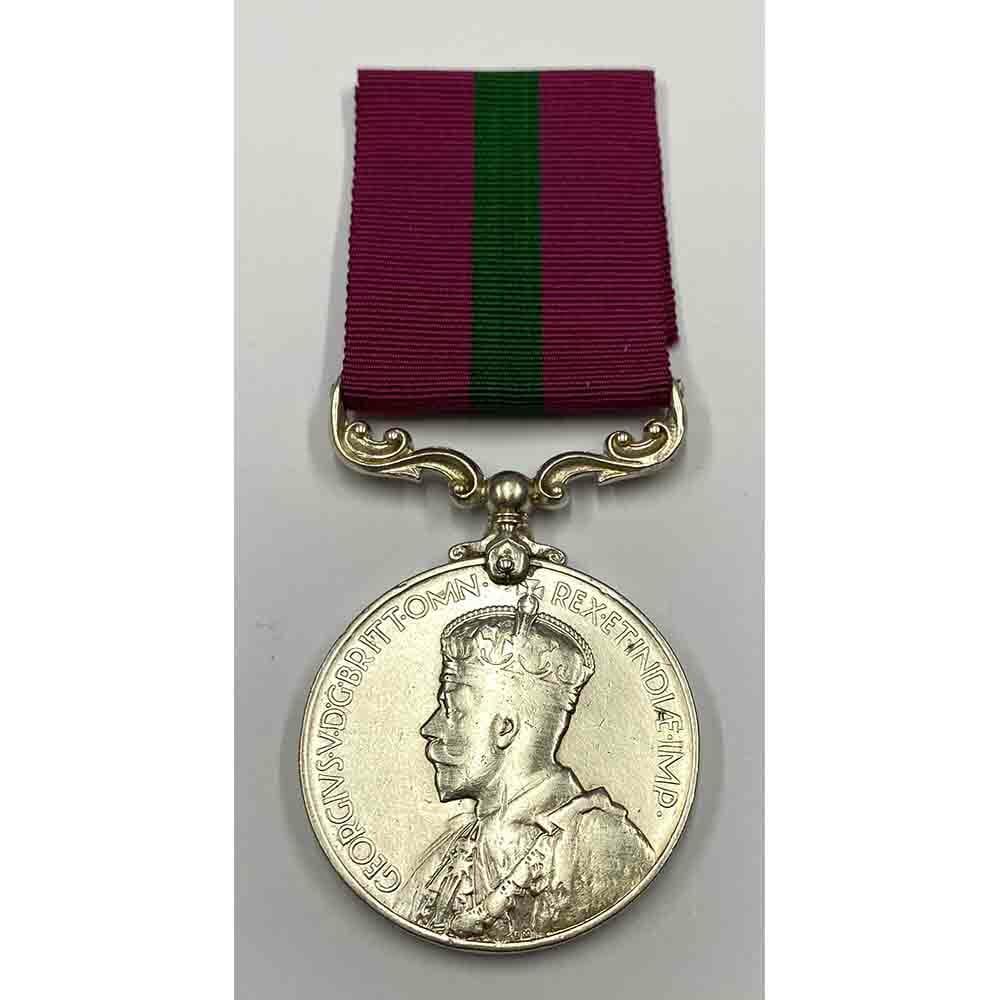 KAR LSGC Medal GV Crowned Head 1