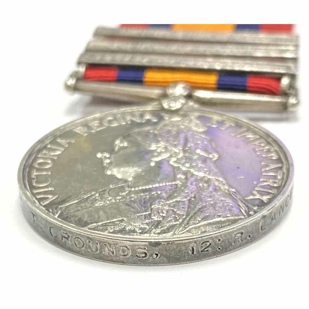 QSA Relief Kimberley 12th Royal Lancers 3