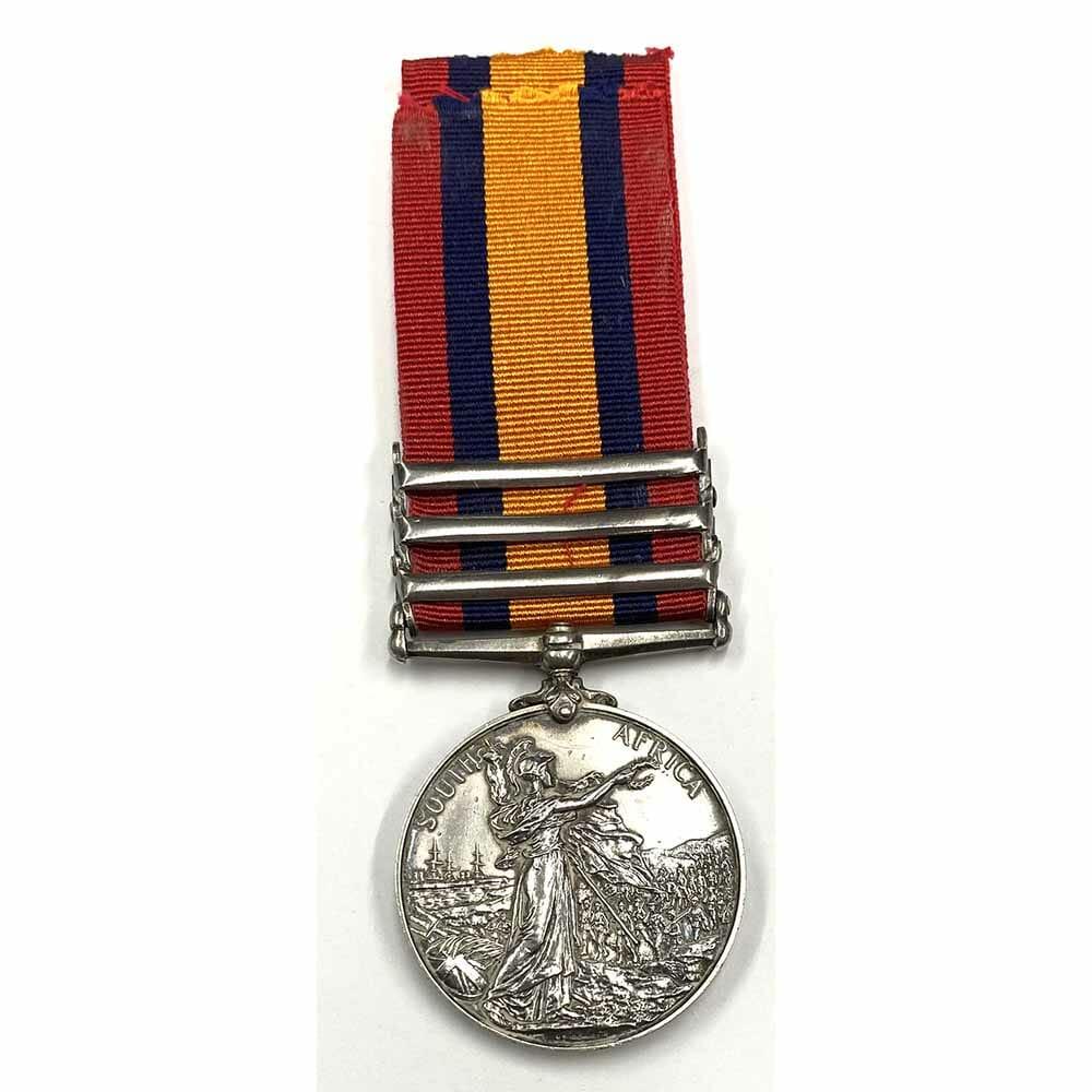 QSA Relief Kimberley 12th Royal Lancers 2