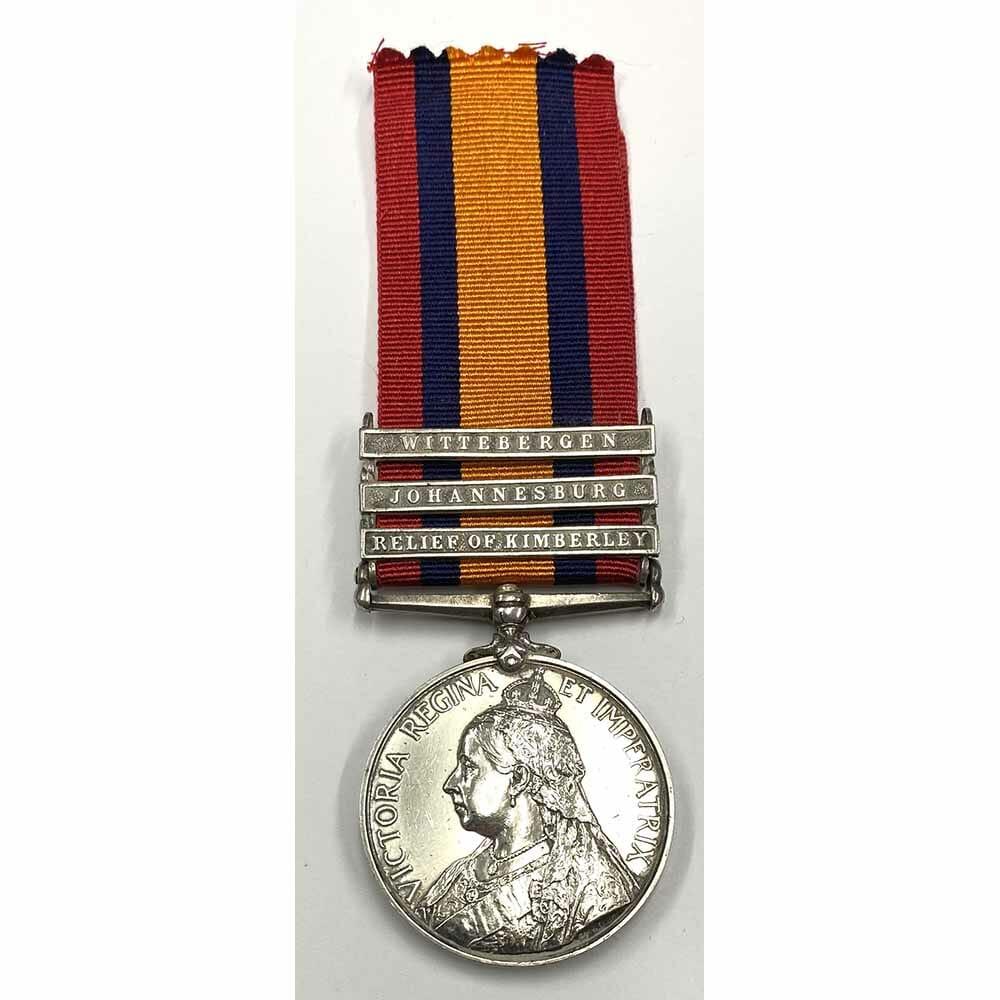 QSA Relief Kimberley 12th Royal Lancers 1