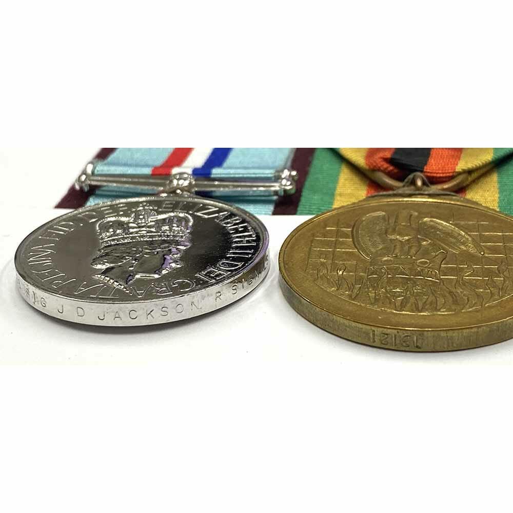 Rhodesia 1980 Named Royal Signals 2