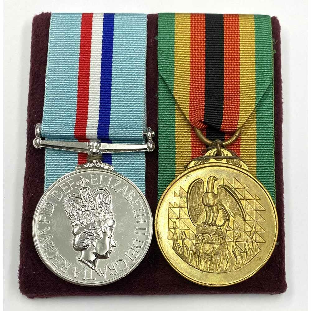 Rhodesia 1980 Named Royal Signals 1