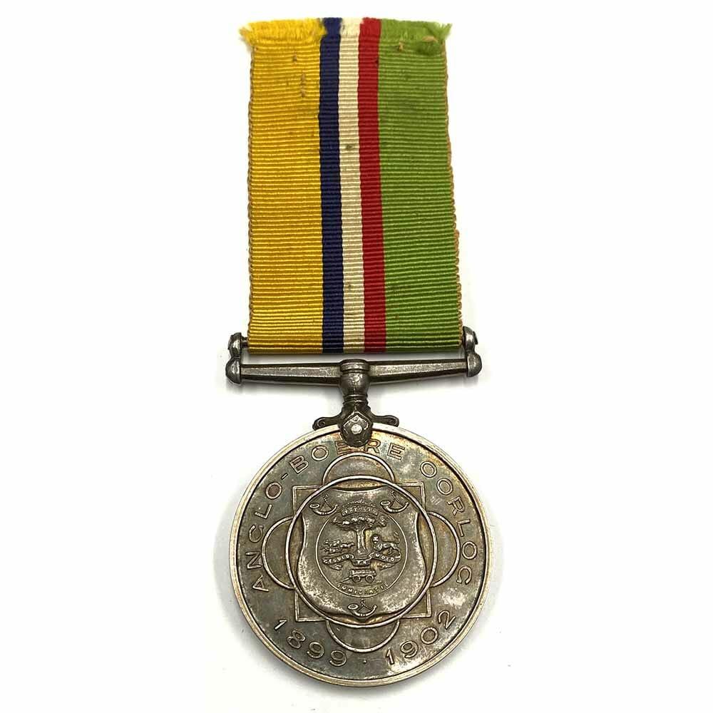 Anglo Boer War Oorlog Medal POW 2
