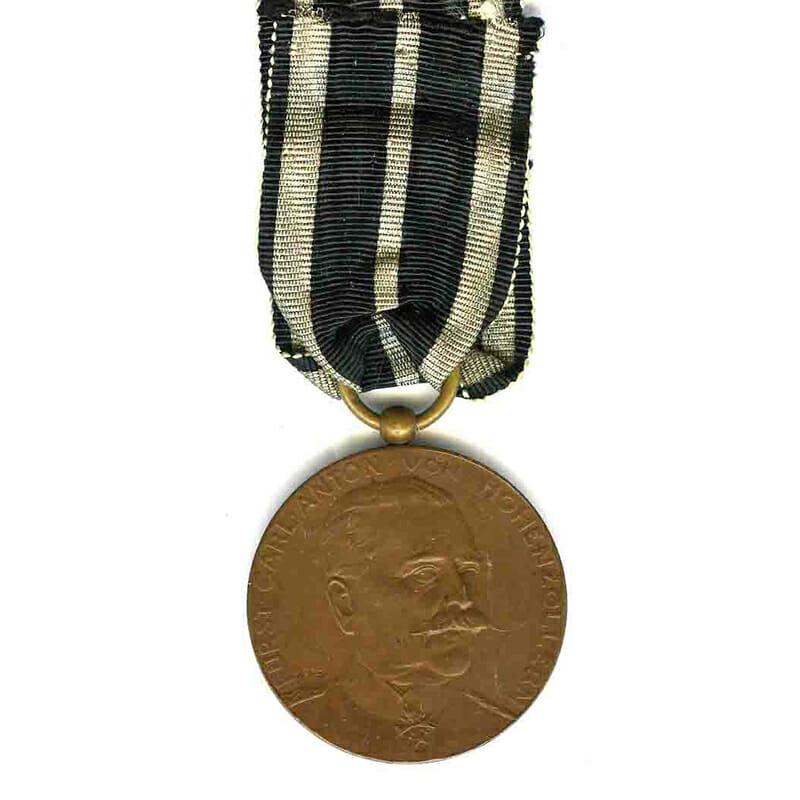 Carl Anton Merit medal 1911 bronze scarce 1