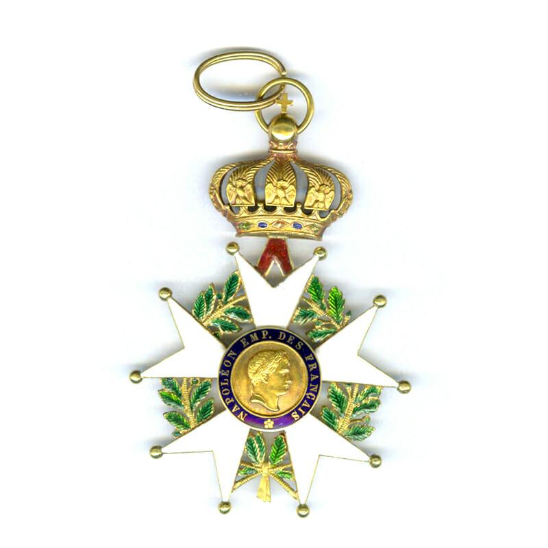 Legion D'Honneur  Commander neck badge  2nd Empire Crimea period 1