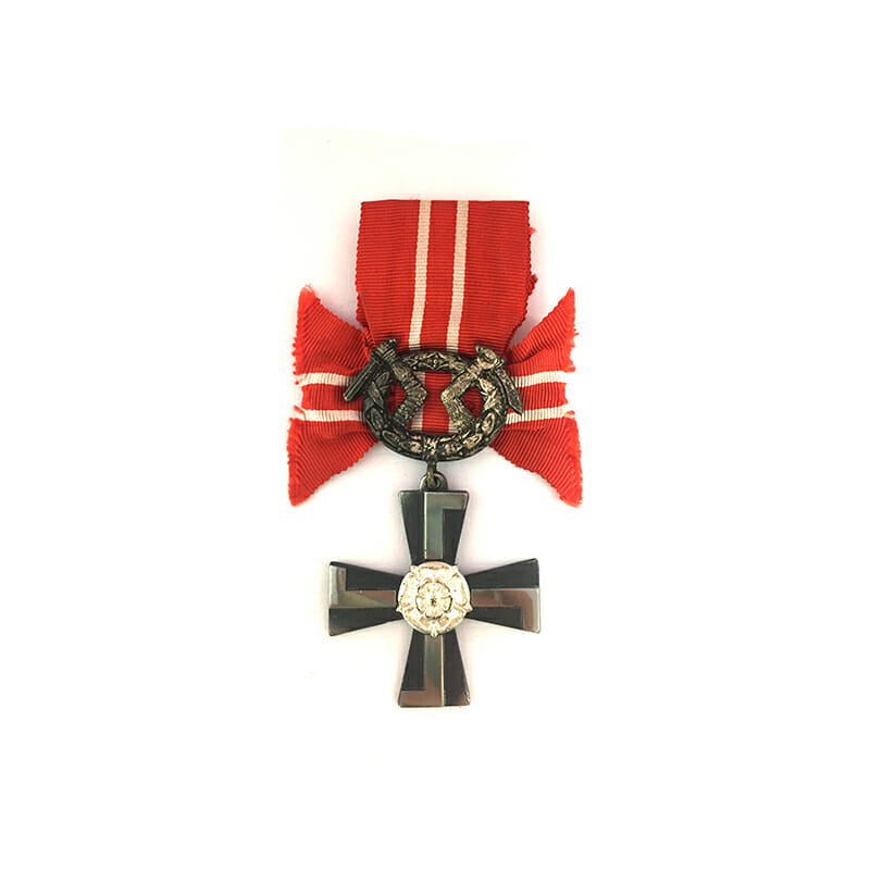 Order of Liberty Cross 4th class 1941 with swords 1
