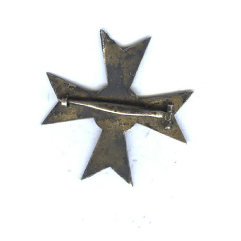 War Merit Cross 1st class no swords silver pin marked 4 2
