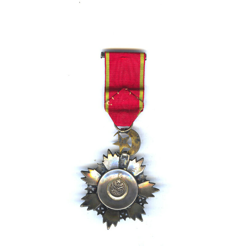 Order of the Medjidie 5th class  breast badge 2