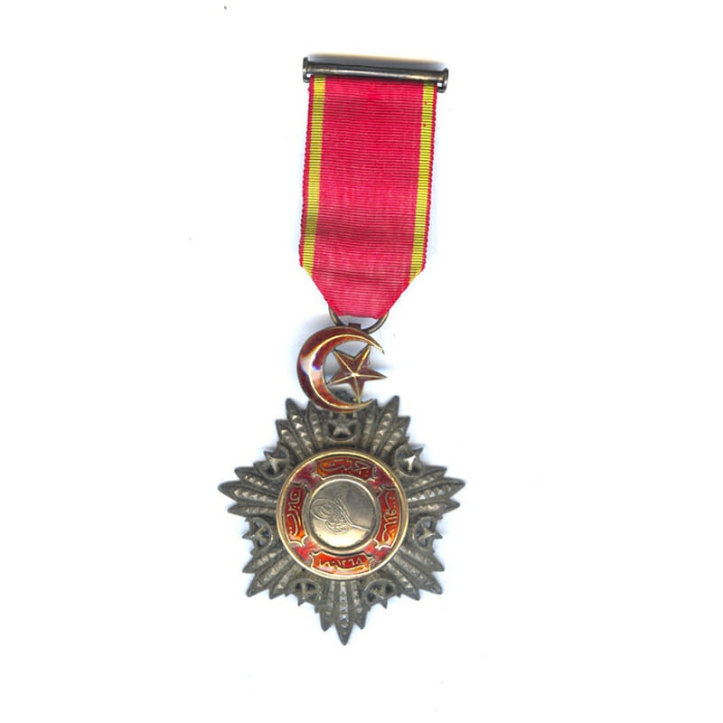 Order of the Medjidie 5th class  breast badge 1