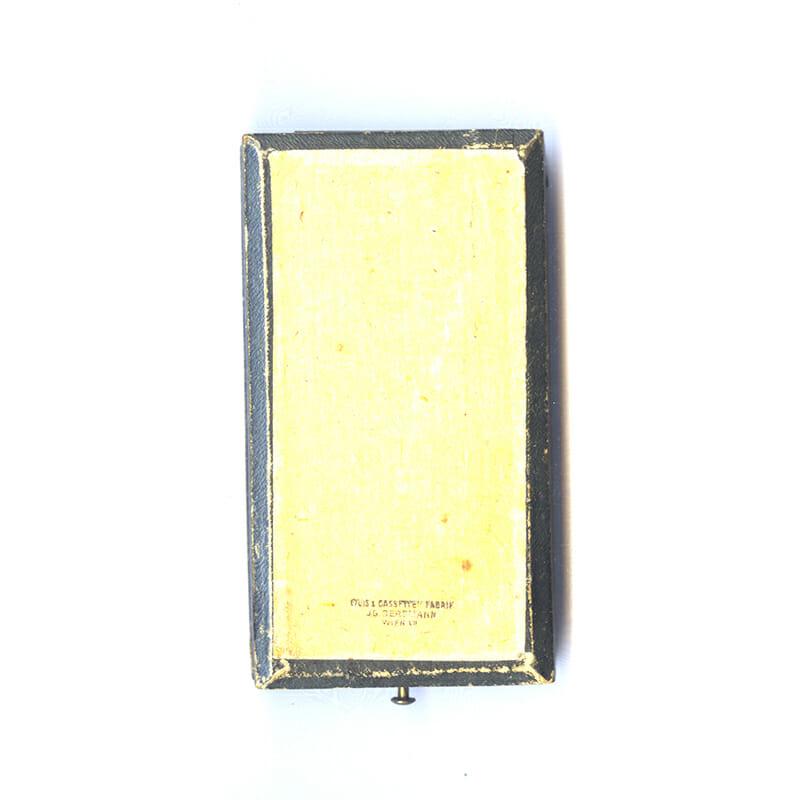 Golden Merit Cross 1849 large  type bronze gilt with crown 4