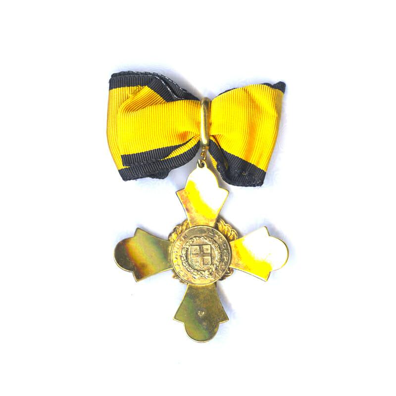 Order of the Phoenix Commanders neck badge 1973 issue 2