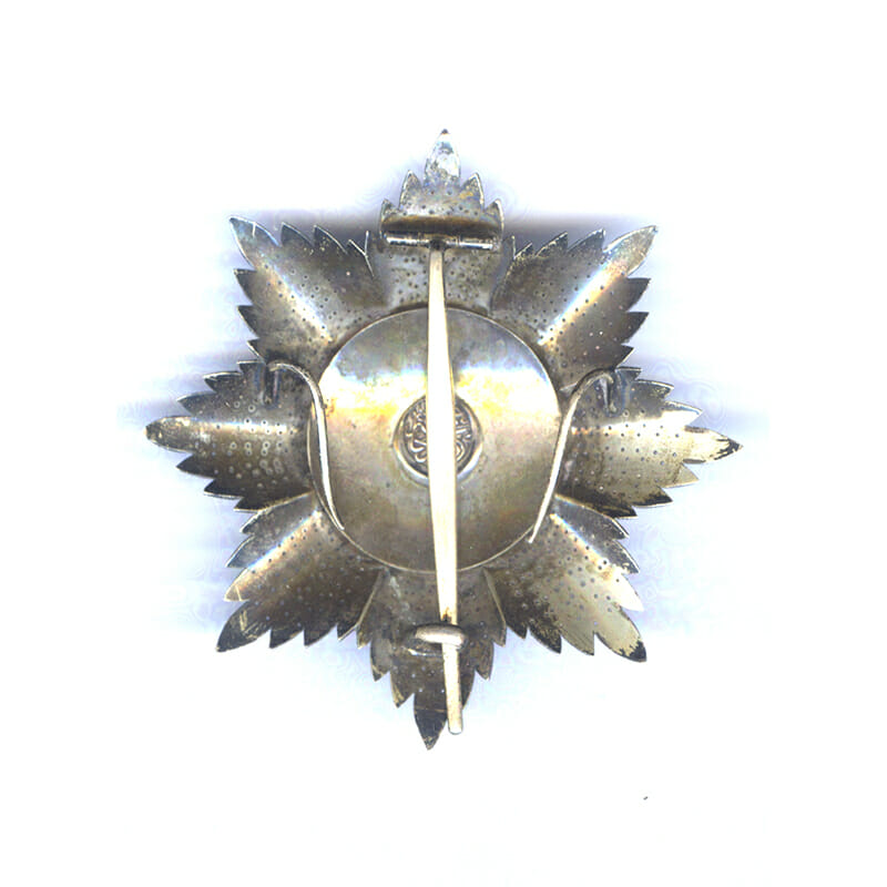 Order of Osmanieh Grand Cross breast star 2