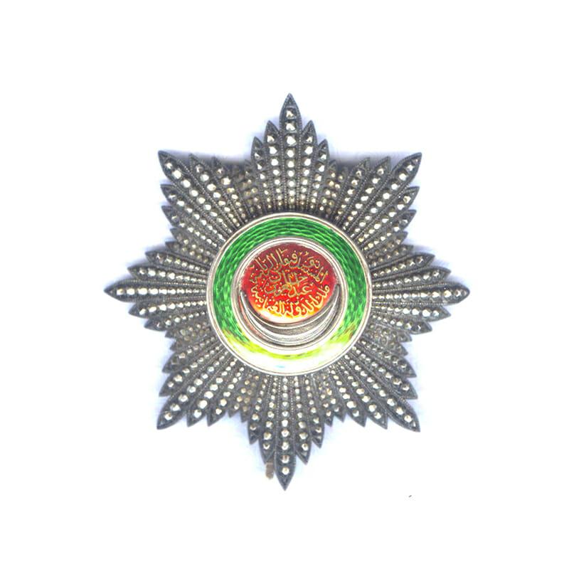 Order of Osmanieh Grand Cross breast star 1