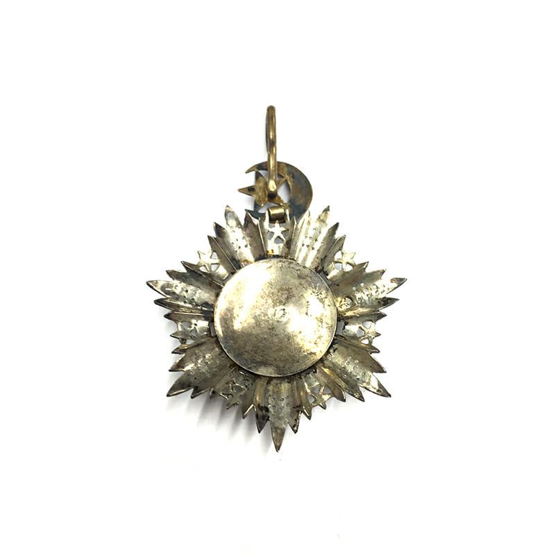 Order of the Medjidie Commander  neck badge 2