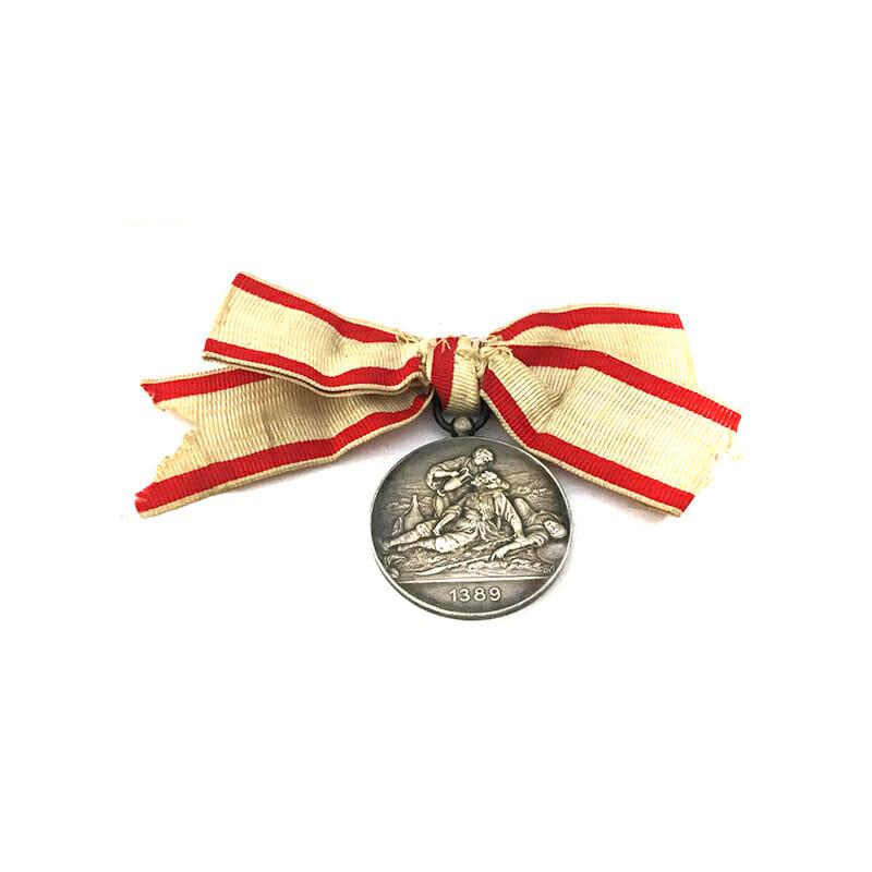 Red Cross Medal Balkans 1912-13 silver 2