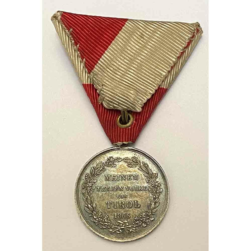 1866  Tirol Campaign Medal 2