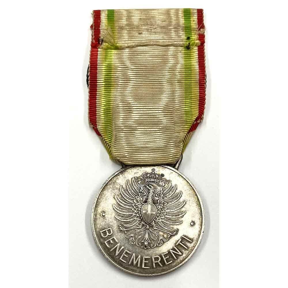 Red Cross Merit medal bar Austria Campaign 2